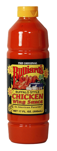 Bulliards Chicken Wing Sauce Bulliards Hot Sauce